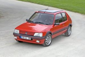 Peugeot 205. Ha esordito nel 1980.