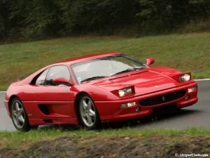 Ferrari F355. Lanciata al Salone di Ginevra del 1994.