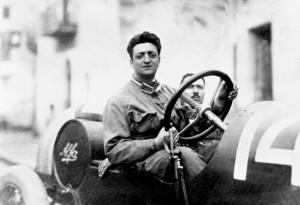 Enzo Ferrari. E' nato a Modena il 18 febbraio 1898.