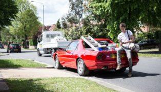 La Ferrari 412 pick-up.