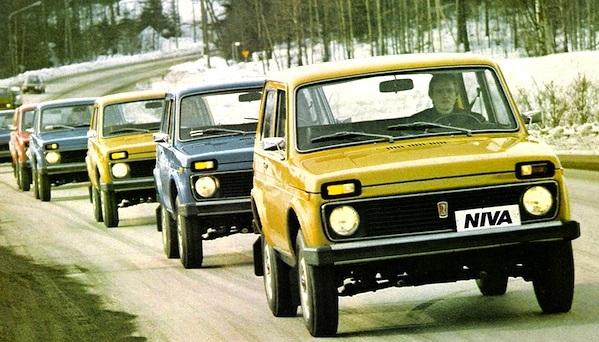 Lada Niva. E' in produzione dal 1977.