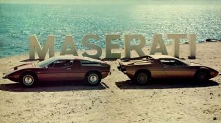 Le Maserati Bora e Merak.