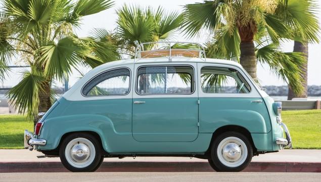 Fiat 600 Multipla.