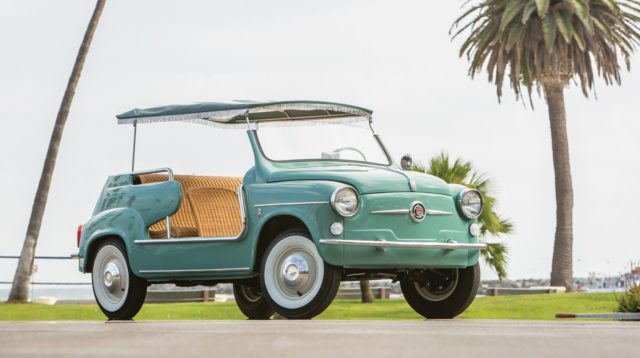 Fiat 600 jolly. Courtesy of RM Auctions