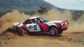 Porsche 911 SC Rally Safari.