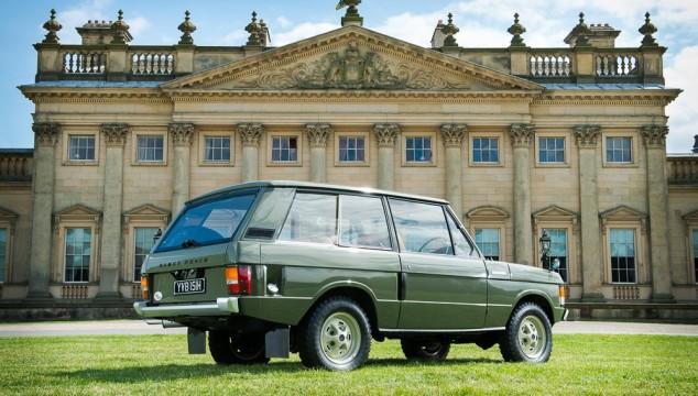 Range Rover. Prezzo stimato superiore ai 125.000 euro.