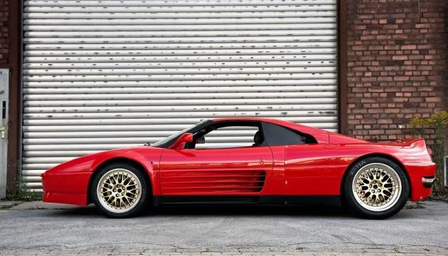 Il prototipo della Ferrari Enzo.