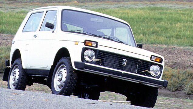 Lada Niva. Presentata nel 1976, è ancora in produzione.