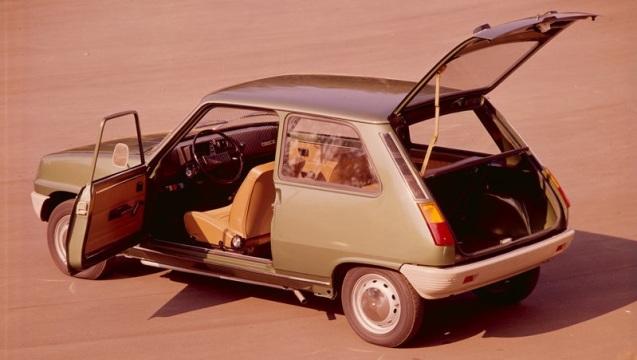 Renault 5. Progetto nato alla fine degli anni '60.