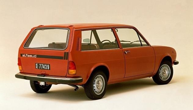 Alfa Romeo  Alfasud Giardinetta. E' stato un flop commerciale.