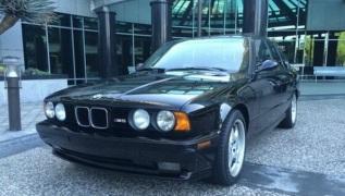 La Bmw M5 del 1993 in vendita.