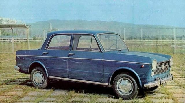Fiat 1100 R. Qui nella versione prodotta a marchio Zastava.