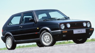 Volkswagen Golf GTI seconda serie.