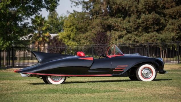 Questa Batmobile ha girato città d'America.