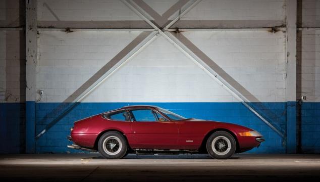 Ferrari 365 Daytona. Una tra le auto classiche più ricercate.