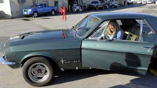 La Ford Mustang rubata nel 1986