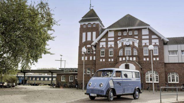 DKW Schnellaster. Ne sono rimasti solo due esemplari.