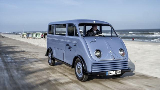 DKW Schnellaster. Questo esemplare è del 1956.