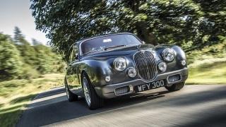 Jaguar Mark 2. Disegnata da Ian Callum.