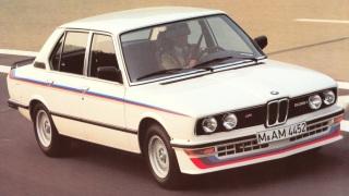 Bmw M535i. Prodotta dal 1980 al 1981.