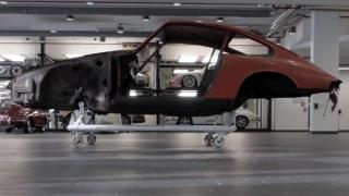 Porsche 911. L'esemplare n. di telaio 57.