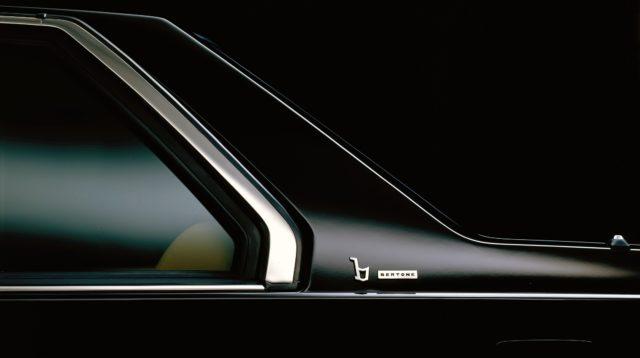 Volvo 780. Il logo Bertone sulla carrozzeria.