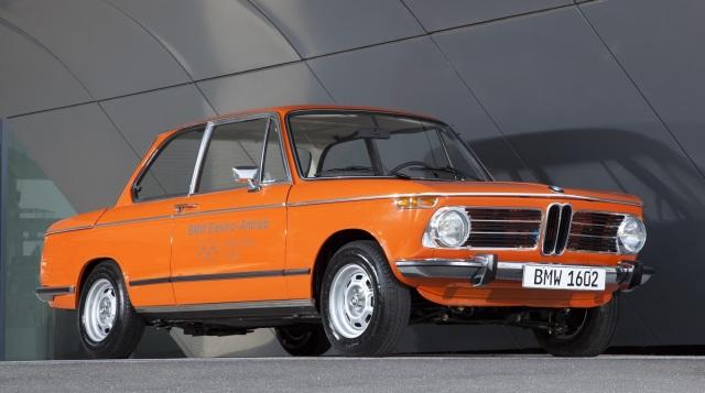 Bmw 1602e. Lanciata in occasione delle Olimpiadi di Monaco del 1972.