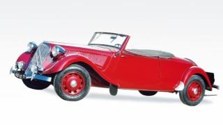 Citroen Traction Avant 15 Six Cabriolet. La più cara di sempre.