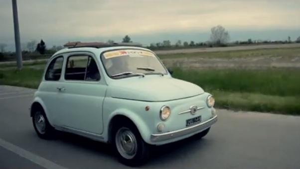 Fiat 500. Carlo l'ha comprata nel 1967 e la conserva ancora.