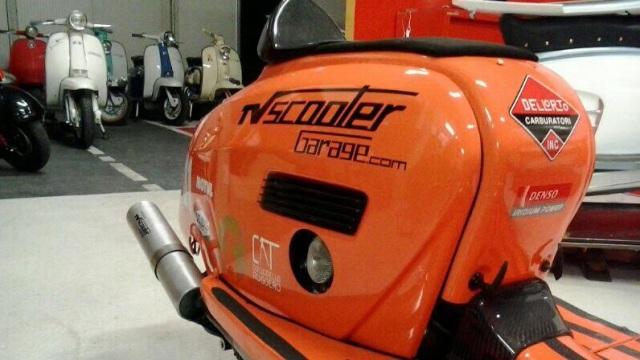 TV Scooter Garage.