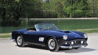 Ferrari 250 GT California. Questo esemplare è del 1961.