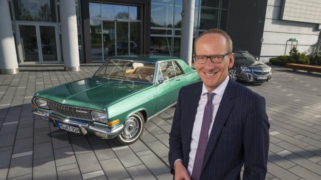 Opel Diplomat. Nella foto, il ceo di Opel Karl-Thomas Neumann.