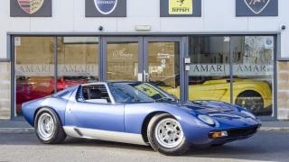 Lamborghini Miura. Questo esemplare era di Rod Steward.