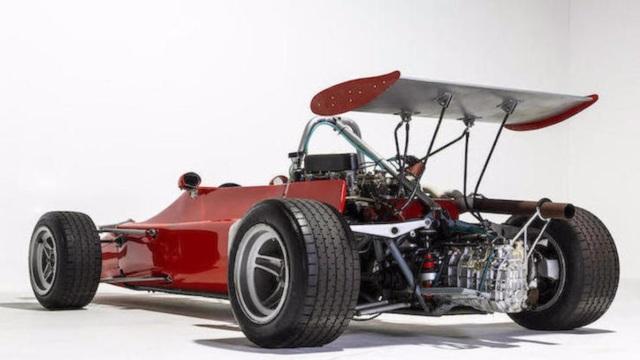 Abarth. Ha il motore di una Fiat 124.