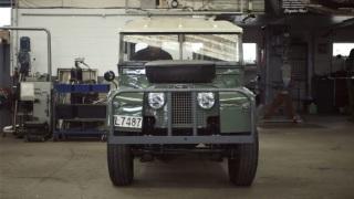Land Rover. L'esemplare restaurato in Nuova Zelanda.