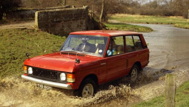 Range Rover. Il primo fuoristrada di lusso.