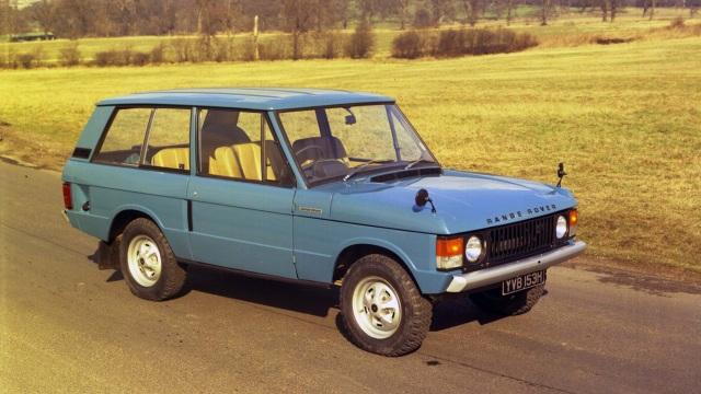Range Rover. Presentato il 17 giugno del 1970.