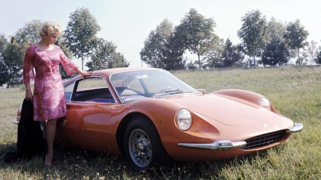 Ferrari Dino 206 GT. Il prototipo del 1967.