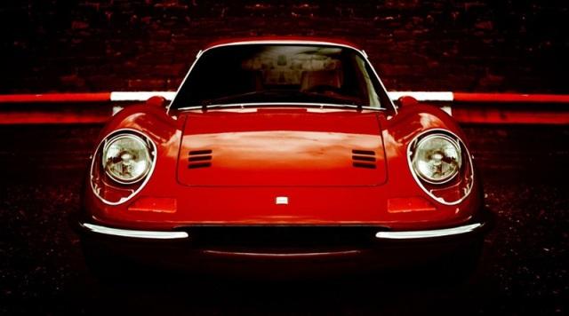 Ferrari Dino 206 GT. Un modello del 1968.