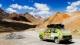 La Fiat 127 utilizzata per il Mongol Rally.