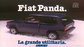 Fiat Panda. La pubblicità del 1980.