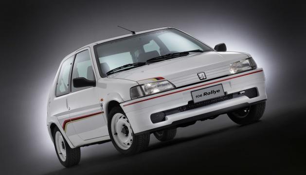 Peugeot 106 Rallye.