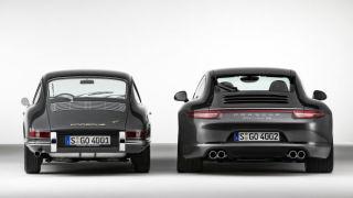Porsche 911. La differenza tra una classica e la versione moderna.