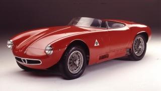 Alfa Romeo 1900 Sport Spider.