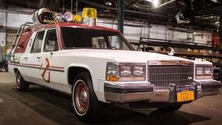 La nuova macchina dei Ghostbusters.
