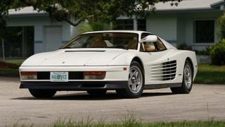 Ferrari Testarossa. L'esemplare che è apparso in Miami Vice.
