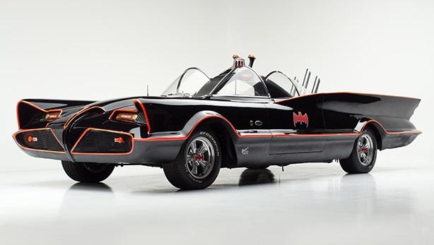La prima Batmobile della storia.