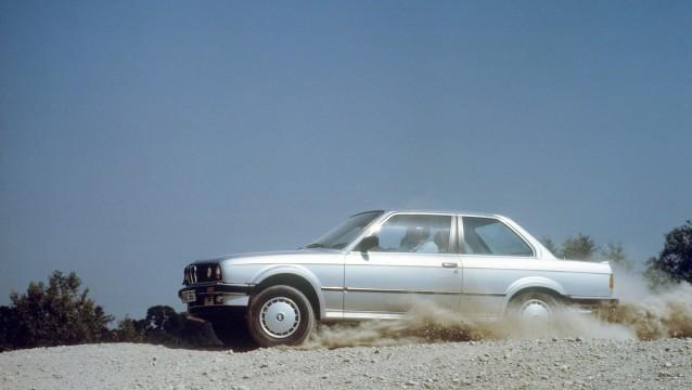 BMW a trazione integrale.