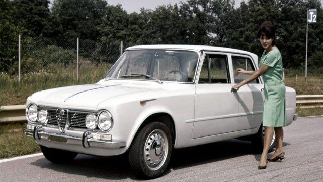 Alfa Romeo Giulia, 1962.