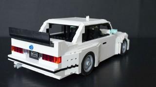 La BMW M3 di Lego.